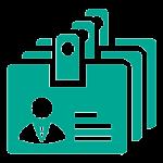 نماد سیستم پرسنلی و سوابق نرم افزار منابع انسانی پرگار
